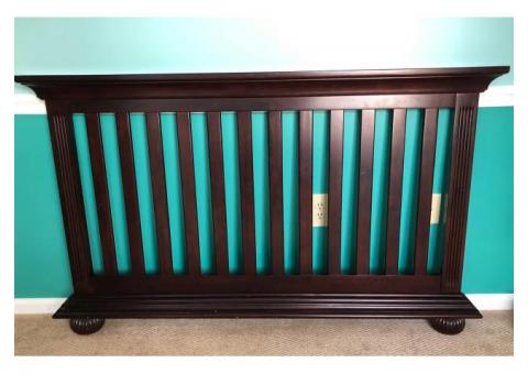 Convertible Crib/Toddler Bed/Full Bed