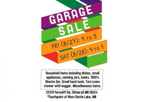 Garage - Moving Sale