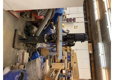 5 Piece Wood Working Equipment